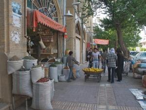 Shiraz street scene